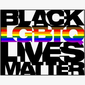 Black LGBTQ Lives Matter - Philly Pride Flag