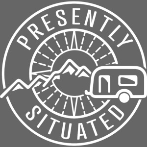 Presently Situated White Logo