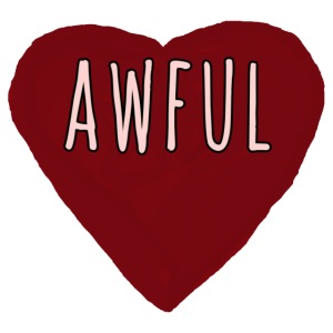 Awful Candy Heart