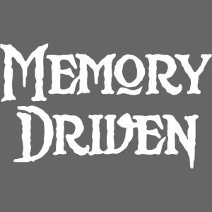 Memory Driven Logo White