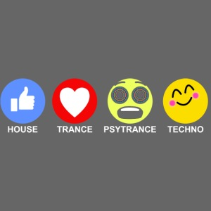 Mr Trance Movement Classic EMJ Tee