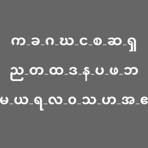 karen alphabet