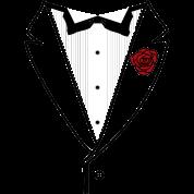 Tuxedo w/Black Lined Lapel