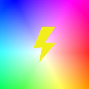 Rainbow lightning t-shirt