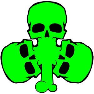 skull_shamrock
