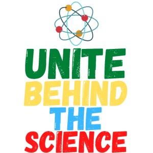 Unite Behind The Science - Atom Symbol
