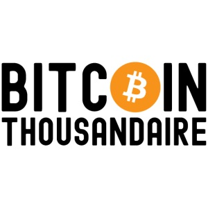 Bitcoin Thousandaire - Bitcoin Symbol
