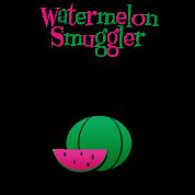 Watermelon Smuggler Funny Maternity Shirt