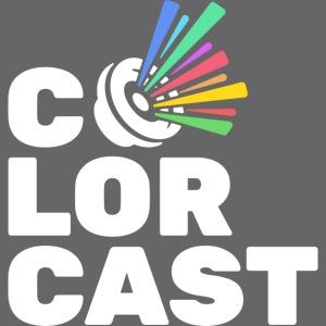 Colorcast Logo - Vertical, Light