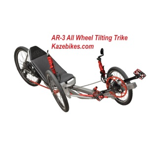AR-3 All wheel Tilting Trike