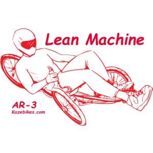 Lean Machine AR-3 all Red Logo Shirt