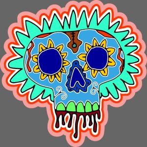 Hippy Día de Muertos