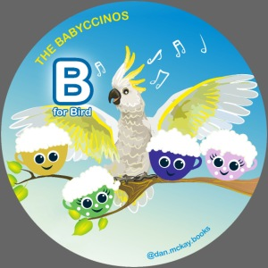 The Babyccinos Alphabet The Letter B