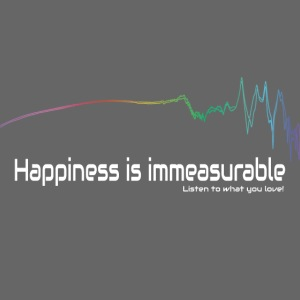 Happiness is Immeasurable