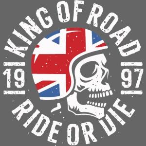 biker rider skull