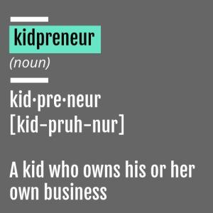 Kidpreneur Definition Mug