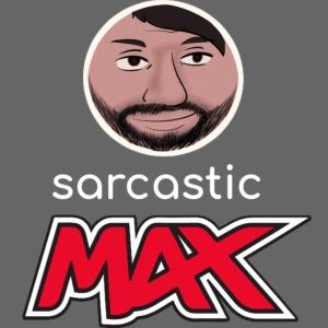 SarcasticMax cola beverage logo