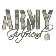 Army Girlfriend- Dog Tags Hoodie | Spreadshirt