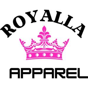Royalla Apparel Black with Pink Logo
