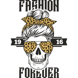 grandma fashion skull