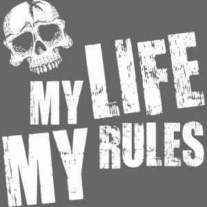 my life my rules skull