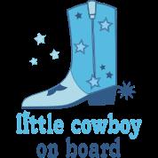 Little Cowboy On Board Maternity