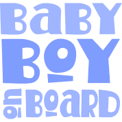 Baby Boy On Board Maternity