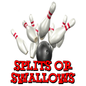 Bowling Team Splits or Swallows