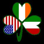 Italian Irish American Shamrock