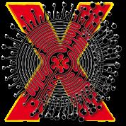 X Letter Name Art T-Shirt