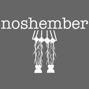 Hairy Noshember Girl's Tee