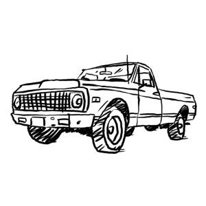 Old Chevy Pickup