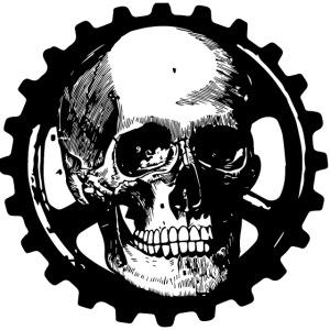 Gear Head Skull