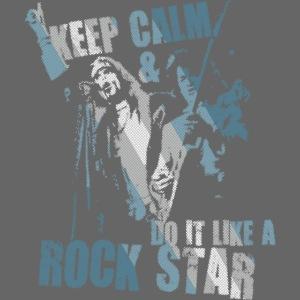 keep calm rock star