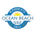 Kawiks Ocean beach Logo Teal Tshirt.png