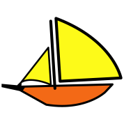 a sailboat or Yacht ship