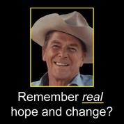 Reagan - Remember Real Hope & Change