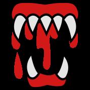 bloody monster teeth
