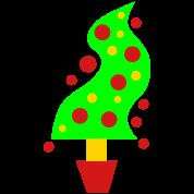 twisty trendy christmas tree