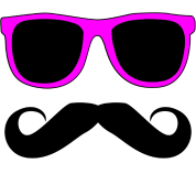 Mustache Glasses Humor