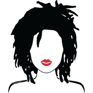 Locs & Lipstick_Global Couture Women's T-Shirts