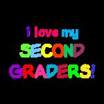 Tshirt I love my Second Graders transparent.png