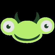 bug praying mantis buggy cute face