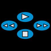 DVD CD PLAYER CONTROLS VIDEO