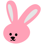 rabbit cutie face easter bunny