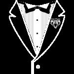 Bear Tuxedo White