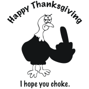 Choke on Thanksgiving