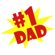 #1 DAD  By VOM Design - virtualONmars