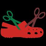 crocscissors