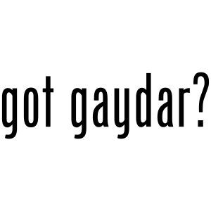 got gaydar
